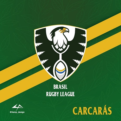 Brasil Rugby League logo three