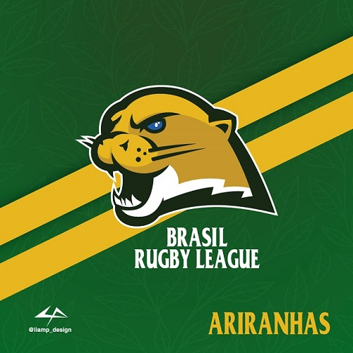 Brasil Rugby League logo two