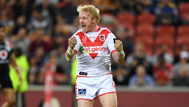 James Graham playing for St George