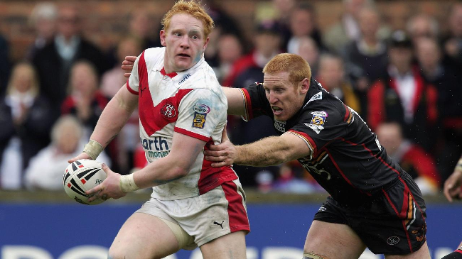 James Graham playing for St Helens