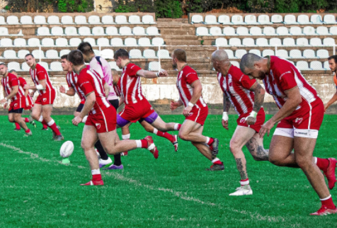 Red Star Belgrade Rugby League Kick-off