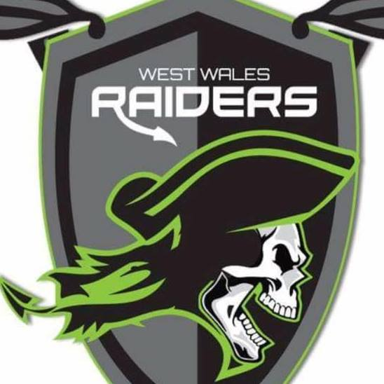 West Wales Raiders rugby league logo