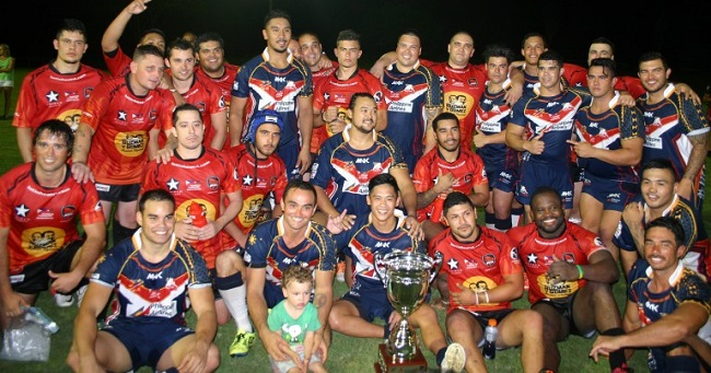 Latin Heat and Philippines rugby leagues